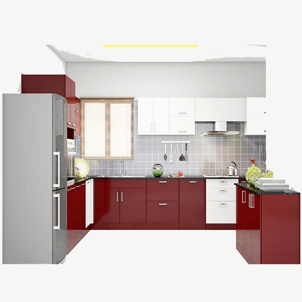 Modular kitchen mk20017007 furniture online buy for Online modular kitchen designs