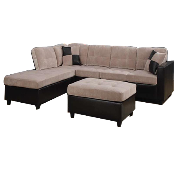 Alayna Sectional Sofa Beige Furniture Online Buy